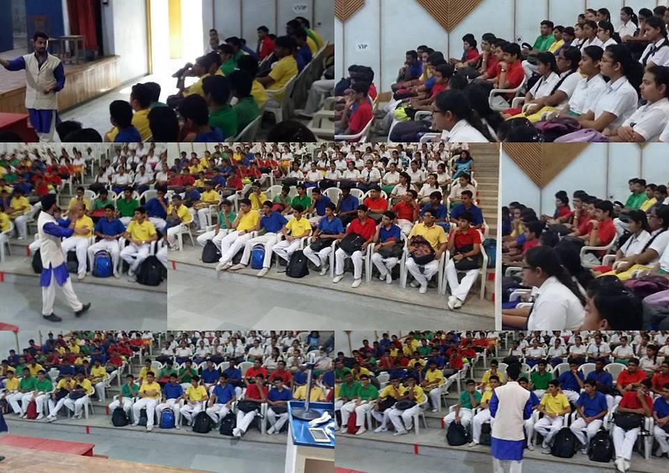 Swaminarayan High School Ghandhinagar, Gujarat.