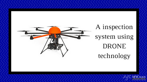 A inspection system using DRONE technology