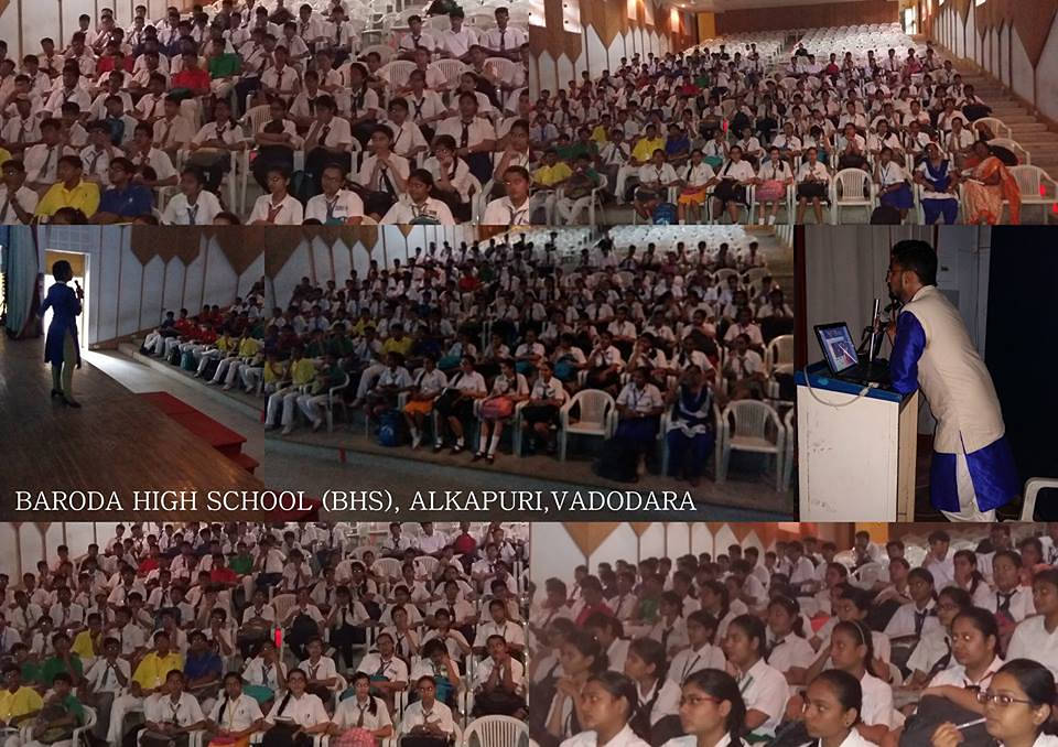 BARODA HIGH SCHOOL,ALKAPURI,VADODARA.