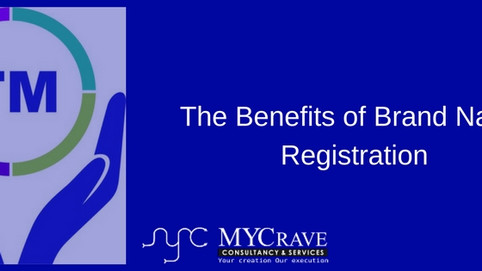 The Benefits of Brand Name Registration.
