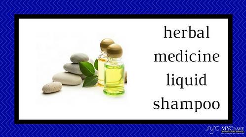 Herbal Medicine Liquid Shampoo