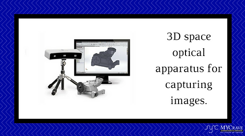 3D space optical apparatus for capturing images.