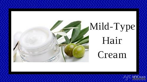 Mild-Type Hair Cream