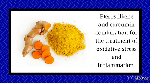 Pterostilbene And Curcumin CombinationFor The Treatment Of Oxidative Stress