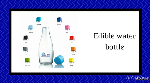 Edible water bottle