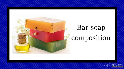 Bar soap composition