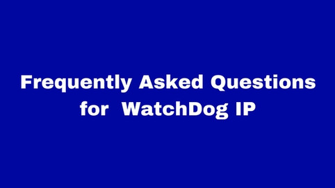 Frequently Asked Questions to file a Ip Watchdog in India.