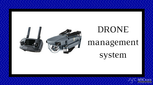 DRONE management system