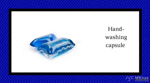 Hand-Washing Capsule