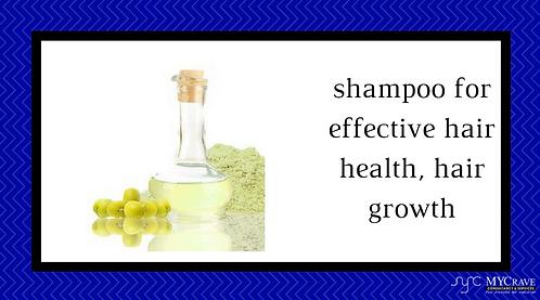 shampoo for effective hair health, hair growth
