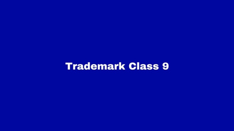 Trademark Class 9: Computers and Scientific Devices