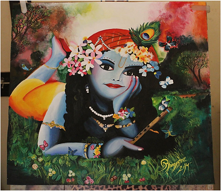 Reverie Lord Krishna.