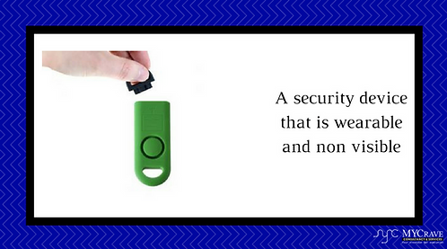 A Security Device That Is Wearable And Non Visible