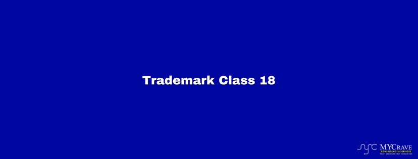 Trademark classification in India, Trademark Class 18