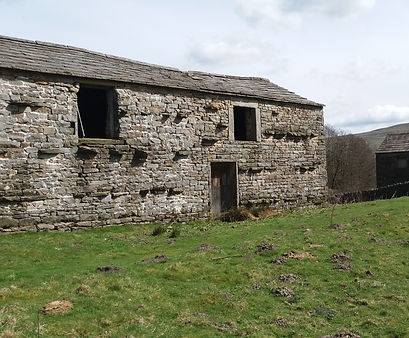 Barn or In Swaledale its called a Cow'us