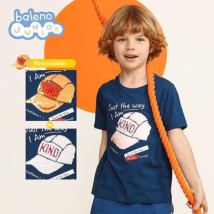 Boys Magic Sequins Graphic Tee