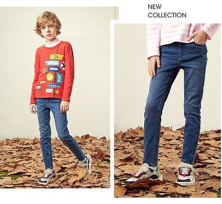Kids' Denim Jeans (Indigo)