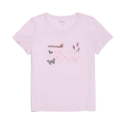 Ladies' Embroidery Design Tee