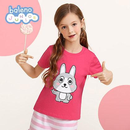 Girls Animal Graphic T-Shirt