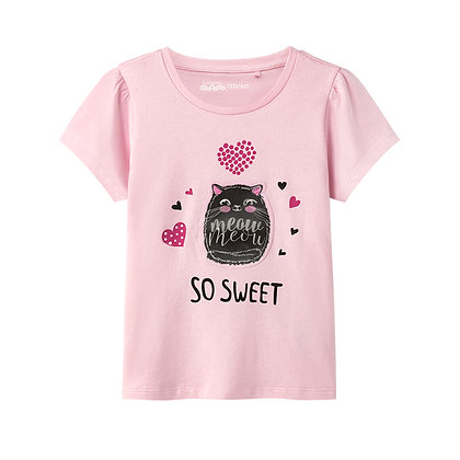 Girls Transition Graphic T-Shirt