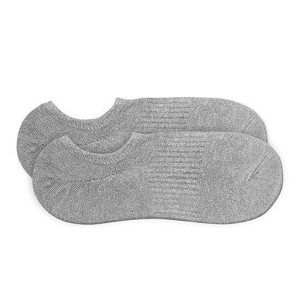 Antibacterial Grey Short Socks