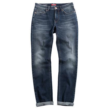 Men's Denim Skinny Jeans (Indigo)