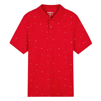 Men's Printed Polo Shirt