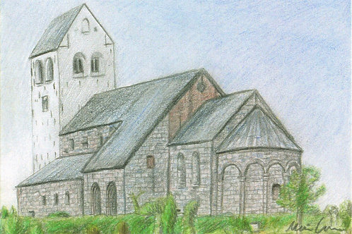 Vestervig kirke kort