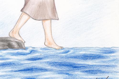 Træd ud på vandet kort