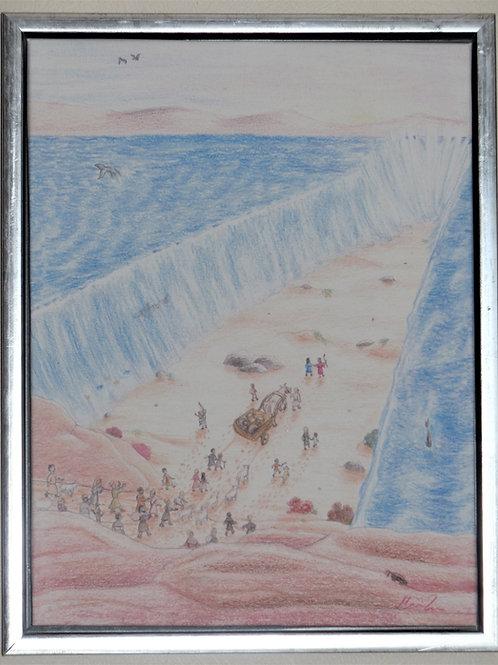 Moses og havet lille udgave