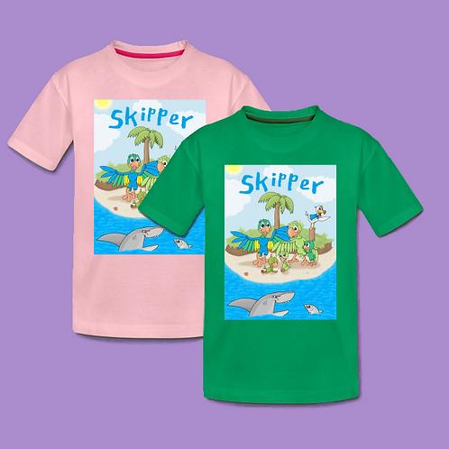 To Skipper t-shirts valgfri farve