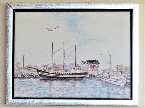 Thisted havn billede