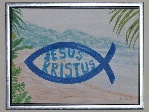 Fisken med Jesus Kristus