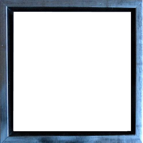Sølv svæveramme -kvadrat