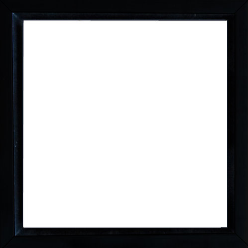 Sort svæveramme - kvadrat