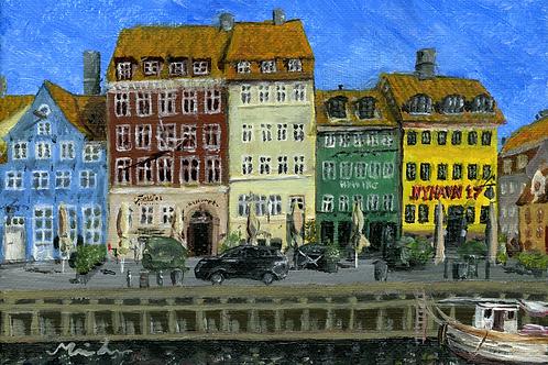 Nyhavn kort