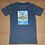 Thumbnail: Premium Oeko-Tex T-shirt med Skipper blåmeleret