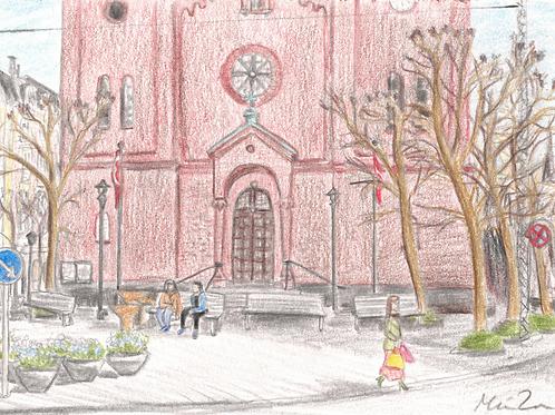 Sct. Pauls kirke kort