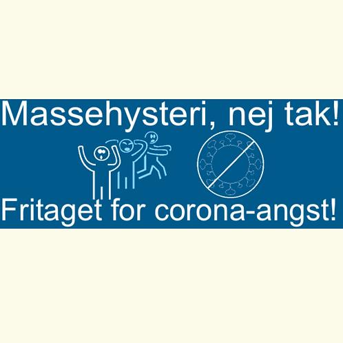 Sticker - 'Fritaget' med to symboler