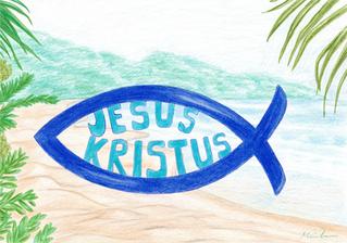 Jesus Kristus fisken 2019
