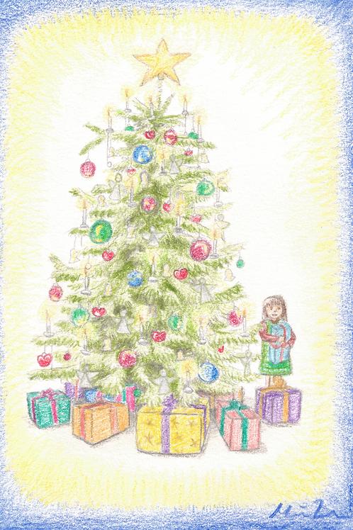 Juletræ kort