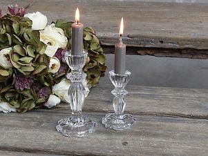 Kerzenständer Glas gross
