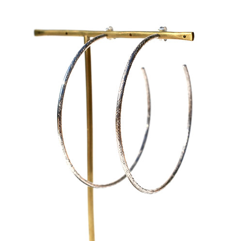 Textured Hoop Large
