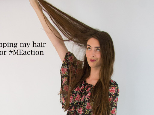Raising £550 for ME Action UK