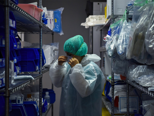 Medical companies warn PPE, critical equipment situation 'not sustainable,' House memo says