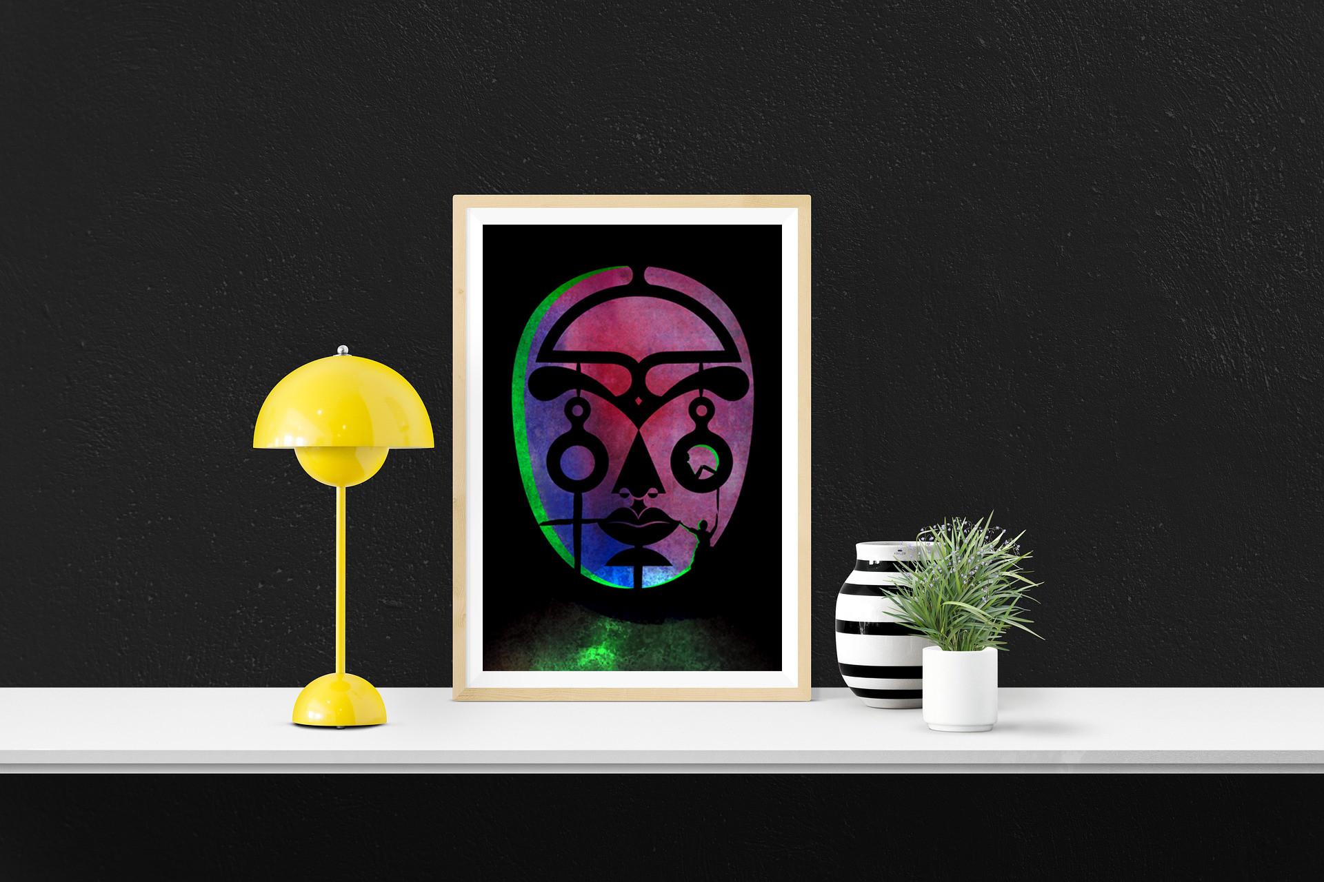 Mask Framed