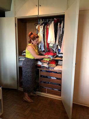 consultoria de estilo express, organização guarda-roupa