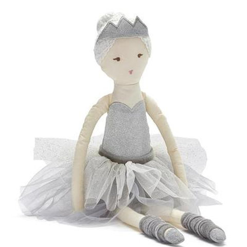 Ballerina Doll Silver or Pink 57cm