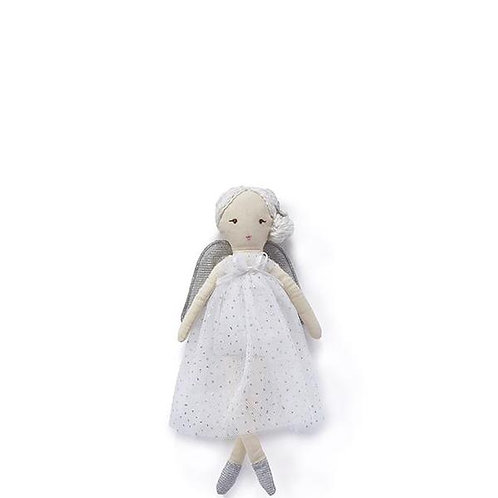 Mini Angel Doll in white or pink 25cm
