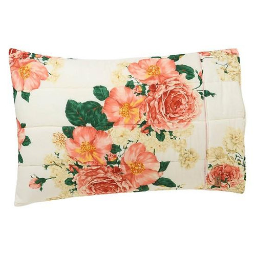 Kip and Co Bed of Roses Quilted Pillowcases